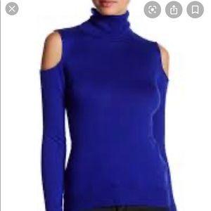Tahari Cold shoulder sweater